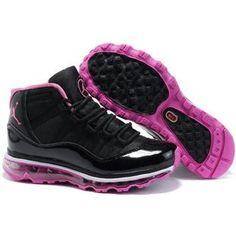 nouvelles chaussettes d'élite Nike - 1000+ images about Pink and black Jordans on Pinterest   Black ...
