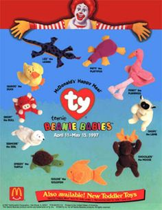 #TBT: '90s McDonald's Happy Meal Toys -- How many do you remember?