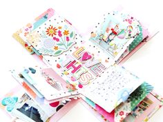 Love This Exploding Box Mini Album by Paige Evans - Stamp & Scrapbook EXPO - Includes video tutorial