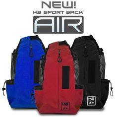 K9 Sport Sack AIR - The Original Forward Facing Dog Carrier Backpack