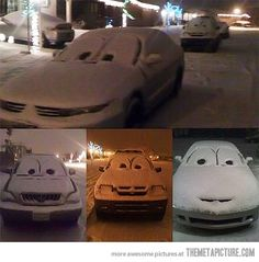 i want to do this when it snows.... hopefully it actually will this winter