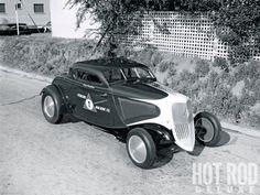 Craig Bowman Blown Flathead 1934 Ford Coupe
