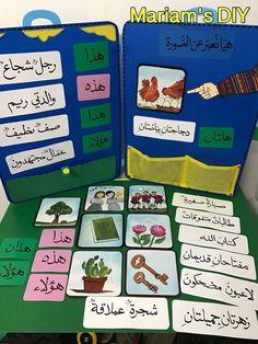 وسيلة اسماء الاشارة Arabic Alphabet Letters, Learn Arabic Online, Arabic Lessons, Teaching Aids, Preschool Games, Arabic Language, Learning Arabic, Learning Centers, Kids Education