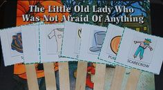Sequencing Cards | The Little Old Lady Who Wasn't Afraid of Anything by Linda Williams