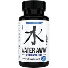 Natural Diuretic Water Pill with Dandelion and Potassium To Lose Water Weight – Relieve Bloating,…
