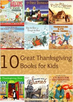 Creative Family Fun: 10 Great Thanksgiving Books for Kids
