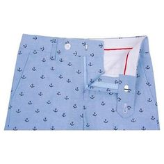 Wd·ny Boys' Anchor Print Shorts - Academy Blue 18