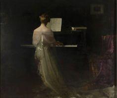 Sonata 14 (II) Fernando Labrada Oil on canvas Piano Art, San Fernando, Fantasy Images, Fantasy Illustration, Classical Art, Belle Epoque, Art Music, Oil On Canvas, Novels