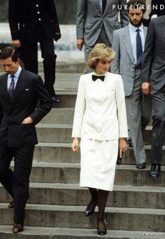 1985-04-24 Diana and Charles visit the Basilica Di Santa Croce in Florence