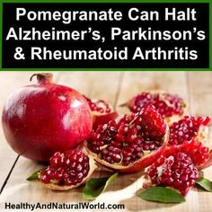 A chemical compound found in pomegranate has the potential to inhibit inflammation in brain cells. Find here the newest research information.