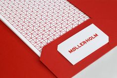 In love with this bold red and simple pattern. Designed by Jesse Mallon | Country: Australia