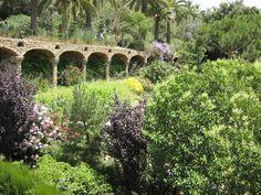 Паркът Гюел в Барселона, Испания