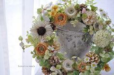 heartwarming days:wreath - はなりえmade