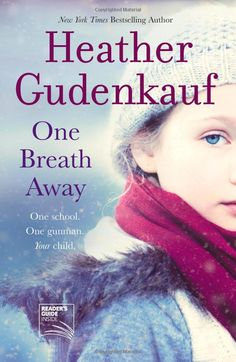 One breath away. Fantastic new book! ALMOST written like a Jodi Picoult..