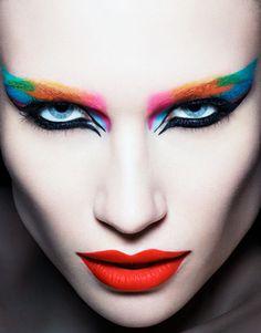 Ayami Nishimura by Rankin Rankin Photography, Creative Photography, Makeup Artist Portfolio, Media Makeup, Rainbow Eyes, Creative Makeup Looks, Color Me Beautiful, Make Up Art, Beauty Shoot