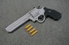 Colt King Cobra Revolver Papercraft