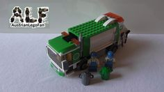Lego City 4432 Garbage Truck / Müllabfuhr - Lego Speed Build Review