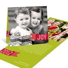 Holiday Joy -- Photo Christmas Cards