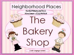 This Bakery themed resource is a sweet (excuse the pun) accompaniment to any unit of study on the neighborhood. It has poems and activities for you to use in whole group or at centers. This is a beautifully designed resource that is part of Little Language Learners' Neighborhood and Community Helpers Thematic Unit. Check out the preview to see the engaging quality of this product. Perfect for early primary and ESL newcomers.