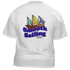 Smooth Sailing White T-Shirt    $17.49   The LifeSong Store    www.realtalkworld.com