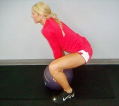 Ugi Ball Core Workout « Jenn-Fit Blog – Healthy Exercise | Healthy Food | Healthy Living