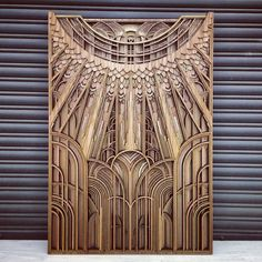 Exquisite Geometric Artworks from Layers of Laser-Cut Plywood
