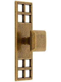 Mackintosh Cabinet Knob With Pierced Backplate | House of Antique Hardware