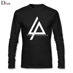 Men's Chester Bennington Linkin Park T-shirt Custom Long Sleeve Family  Tee Shirts Men Boy #Affiliate