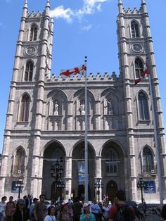 Notre Dame Cathedral in Montreal, Canada. Originally built in the 1600's and renovated in the 1800's, you can spend hours marvelling at its' beauty. See http://www.basiliquenddm.org/en/ for more information.