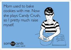 Candy crush @Bonnie Bearden