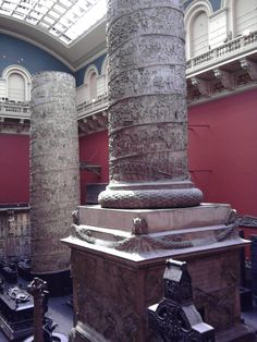 seeing these was one of my most memorable museum experienses - Trajan's Column - V and A Museum