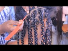 How to Big Box Braids Tutorial - https://www.avon.com/category/bath-body/hair-care?repid=16581277 Shop Hair Care Products  This video was highly requested by my viewers. I hope you find it helpful. Thanks for supporting my channel!   Hair X-pression 2packs color 1 and 30 and one pack I cut it into 3 sections. Step By Step How To Do Box Braids/stretch hair: https://www.youtube.com/watch?v=KvQysLVPNtU How To: BOX BRAIDS Tutorial: https://www.youtube.com/watch?v=A_n-yUxTTzY
