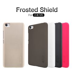 100% Original Nillkin Brand Hard protector cover case for Xiaomi mi5  Frosted Shield for xiaomi 5 free shipping full tracking