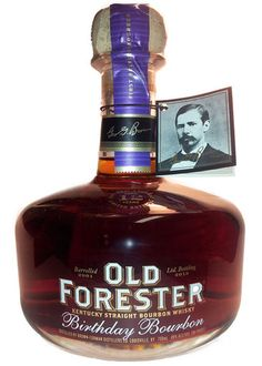 2013 Old Forester Birthday Bourbon Whiskey Or Whisky, Whiskey Girl, Whiskey Bottle, Vodka Bottle, Bourbon Drinks, Wine Drinks, Alcoholic Drinks, Drinks Alcohol, Strong Drinks
