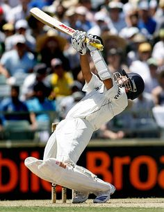 Upper Cut Sachin Tendulkar plays an upper cut during the third Test match between India and Australia at WACA stadium in Perth, 16 January # cricket Test Cricket, Cricket Bat, Cricket Sport, Icc Cricket, India Cricket Team, World Cricket, Cricket Wallpapers, Sachin Tendulkar, Just A Game