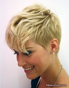 short blonde haircut idea - 99 Hairstyles Ideas