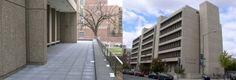 THE GEORGE WASHINGTON UNIVERSITY, Funger Hall, Washington DC. Plaza Rehabilitation and Facade Repairs.