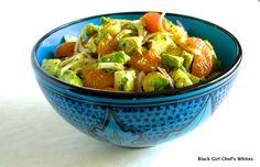 Avocado, Orange and Jicama Salad