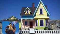 House from Up! Homes inspired by Movies