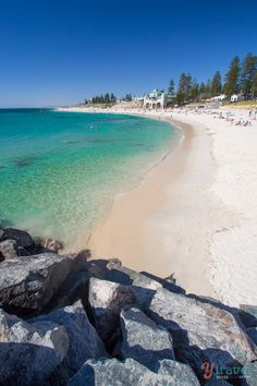 Cottesloe Beach in Perth - Western Australia
