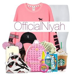 """""""NORTH SIDE COOLIN """" by officialniyah on Polyvore featuring Victoria's Secret PINK, October's Very Own and Retrò"""