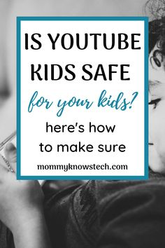 It's screen time again and your kids want a YouTube video... YouTube   Kids is a good option for filtering out some of the nonsense on YouTube,   but are the settings you're using safe? Here's how to make sure. Internet Safety For Kids, Cyber Safety, Parenting Done Right, Computer Security, Parental Control, Positive Discipline, Kids Online, Apps, Tech