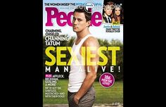Channing Tatum, sexiest man alive by People