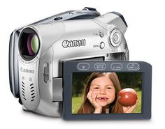 Canon DC100 DVD Camcorder w/25x Optical Zoom
