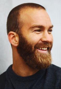 Popular Haircuts For Short Hair Men Beard Styles For Men, Hair And Beard Styles, Short Hair Styles, Ginger Men, Ginger Beard, Great Beards, Awesome Beards, Hairy Men, Bearded Men