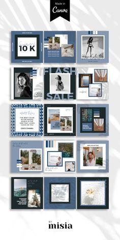 Instagram Feed Layout, Instagram Grid, Instagram Post Template, Instagram Design, Free Instagram, Instagram Posts, Organizar Instagram, Social Media Design, Graphic
