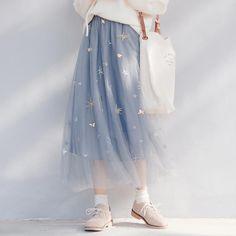 Top Japan Fashion & Korea Fashion & Asian Fashion Clothes And Accessories. Cute Fashion, Skirt Fashion, Diy Fashion, Korean Fashion, Fashion Outfits, Mode Outfits, Skirt Outfits, Outfits For Teens, Harajuku Fashion