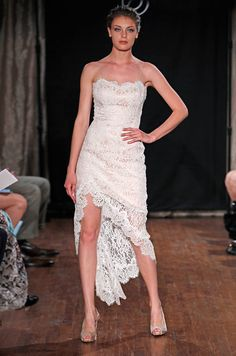 """Could be perfect """"reception"""" dress? Cute! Short Dress makes the list from Colin Cowie  Dan & Corina Lecca Photography, Sarah Jassir, Spring 2013"""