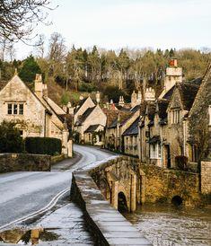 Castle Combe, England. Pretty villages, England.