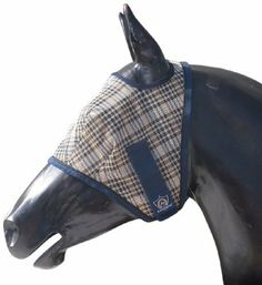 Kensington KPP Fly Mask with Web Trim by Kensington. $16.99. Full visibility. Textilene Fly Mask. Ears & forlock can come through the mask. Protects against fading, soiling, wear & tear, mildew, insect bites & 73% of UV rays. Original Double Locking System makes it nearly impossible to take off. From Kensington™  The fly mask with web trim made with the strongest material on the market today - Textilene and is the absolute best way to protect your horse.   Material is speci...